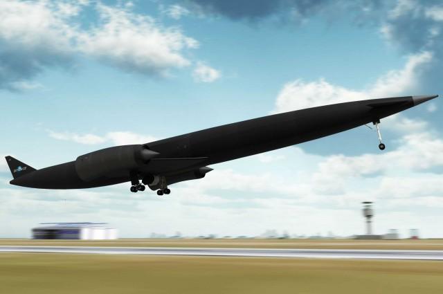 Este avião pode te levar para qualquer lugar do mundo em apenas 4 horas