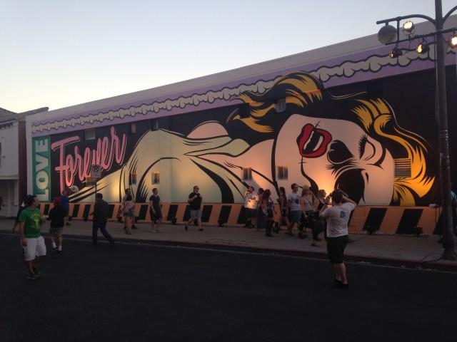Las Vegas precisa se rejuvenescer. Isso inclui ter, cada vez mais, arte na rua (foto: Leandro Beguoci)