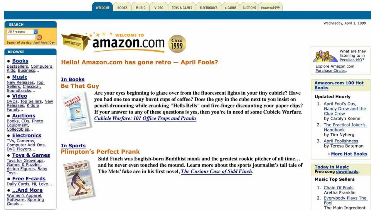 Amazon em 1999