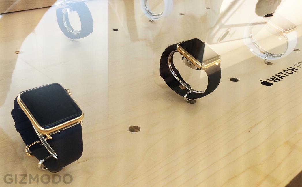 Apple Watch Edition na loja (2)