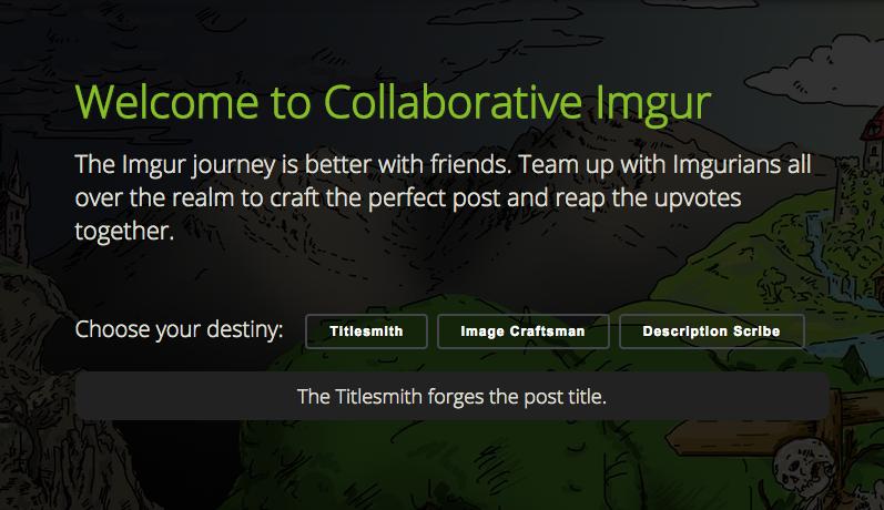 Collaborative Imgur