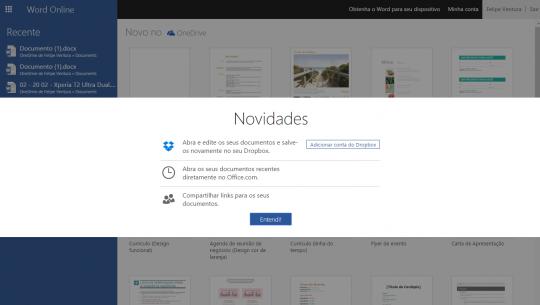 Dropbox e Office (2)