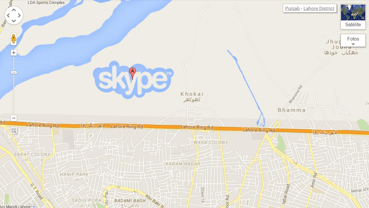 Google Maps e Skype