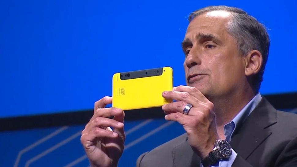 IDF - RealSense em smartphone