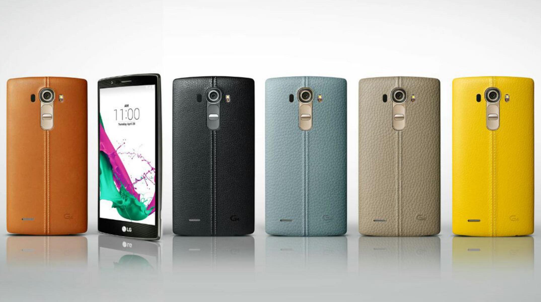LG G4: tela curvada, câmera rápida e bateria removível num smartphone top de linha