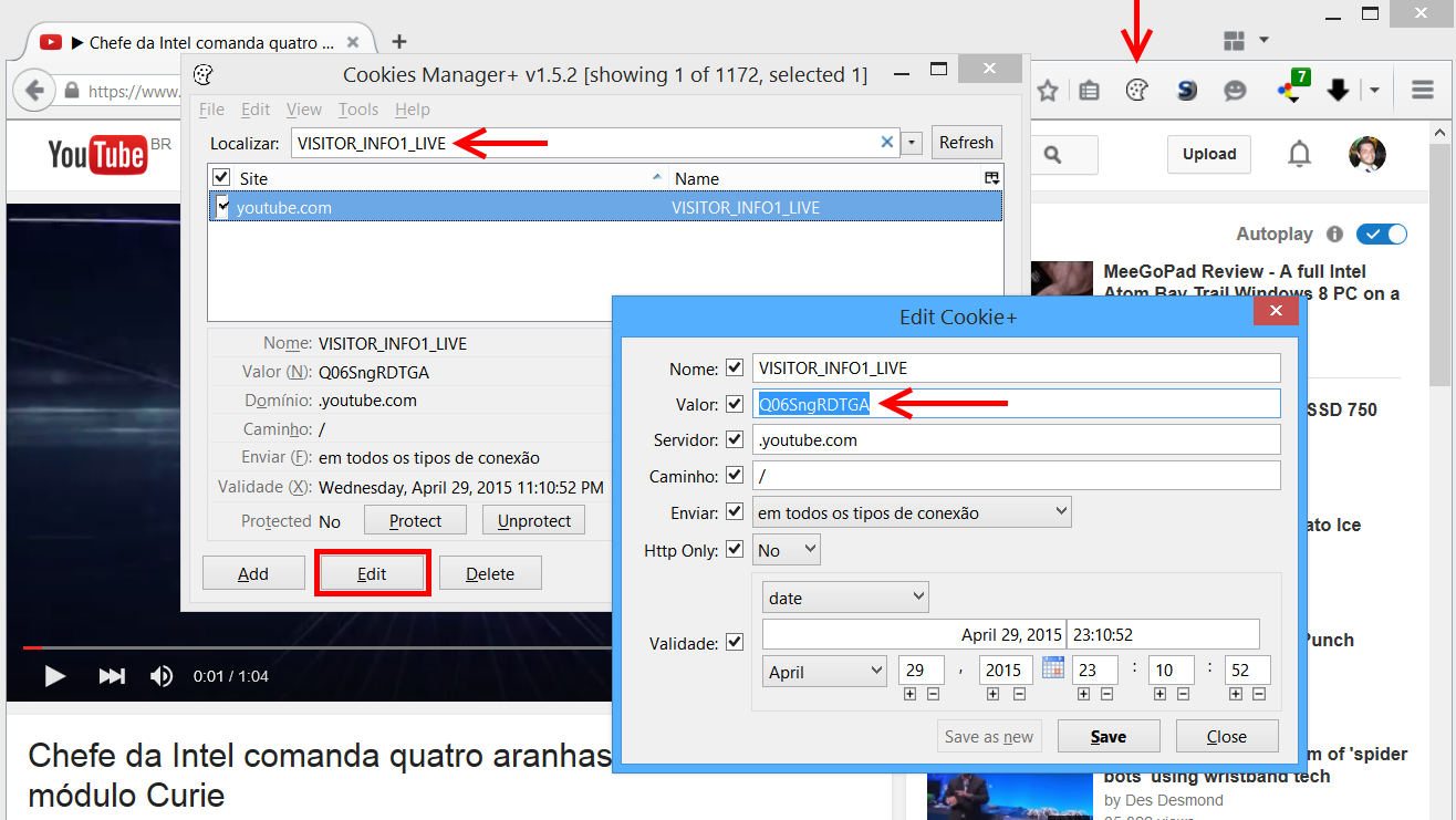 Mudar player do YouTube no Firefox