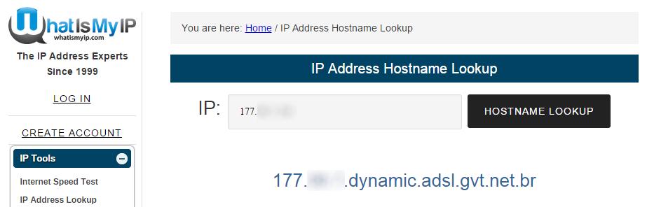 Nome de host
