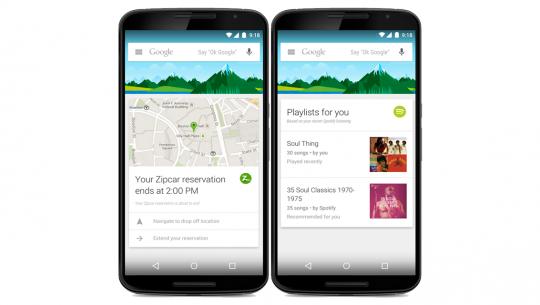 Novos cards do Google Now (2)
