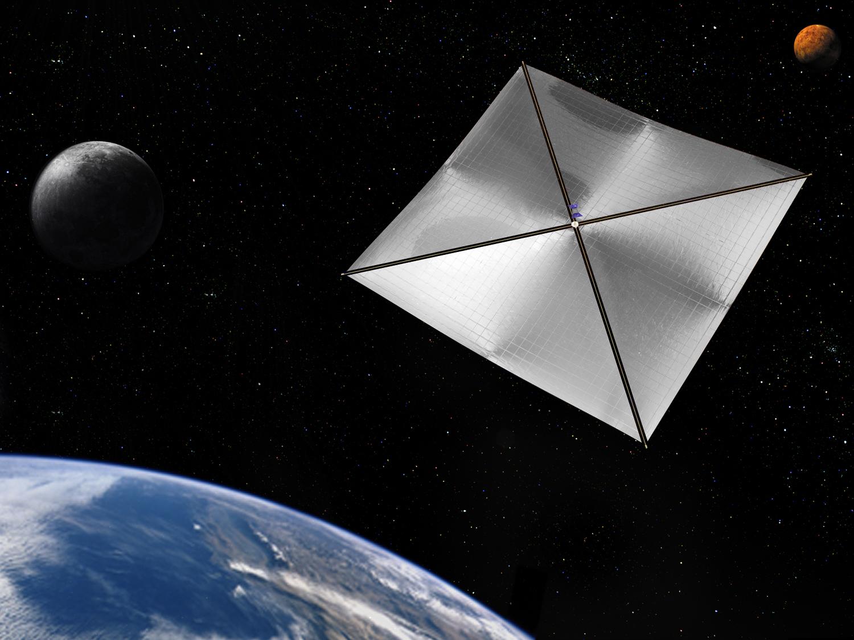 Vela solar para lixo espacial (1)