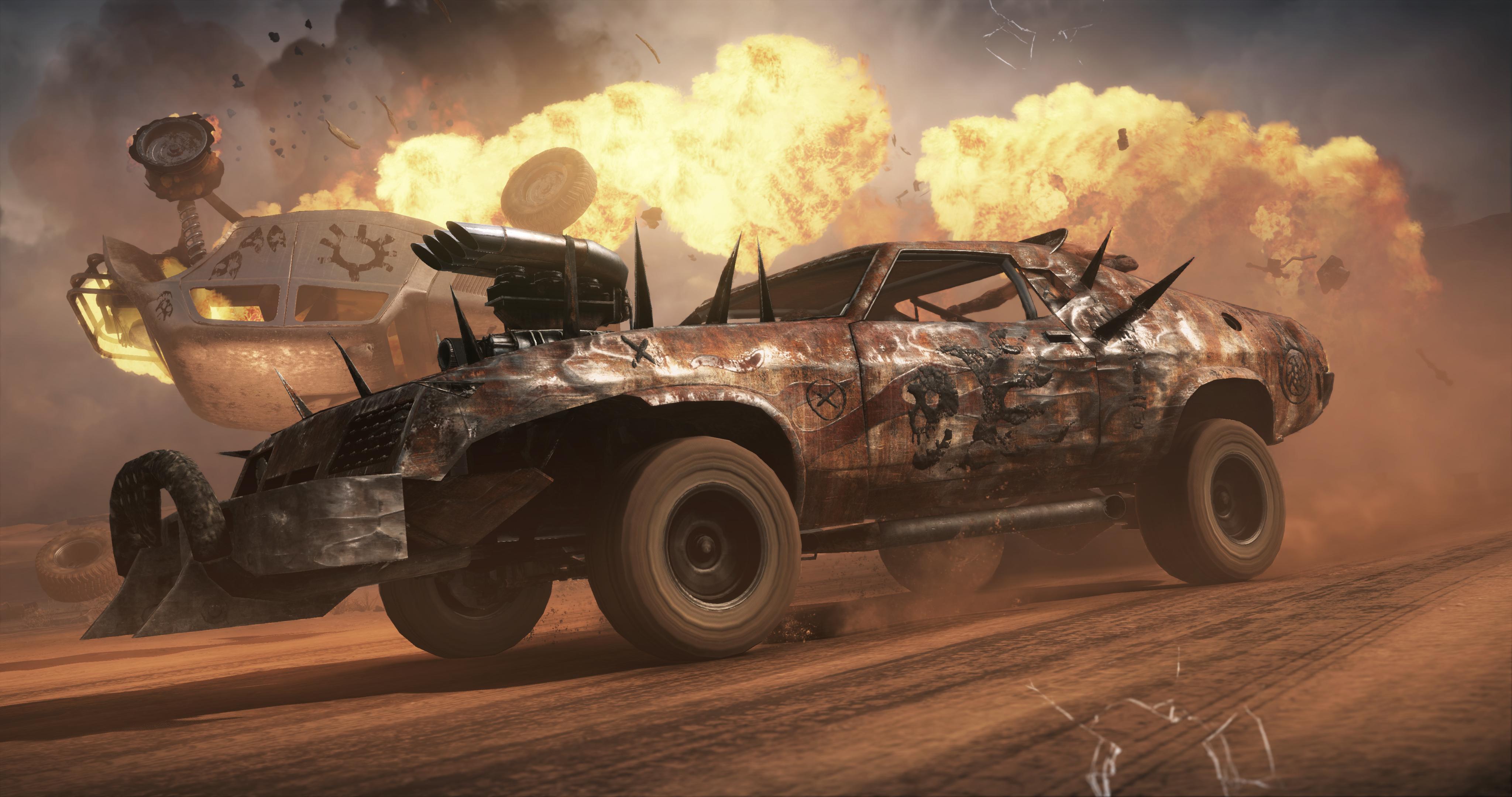 Mad Max para PS4, Xbox One e PC