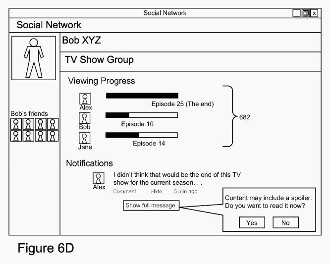 Patente do Google esconde spoilers em rede sociais