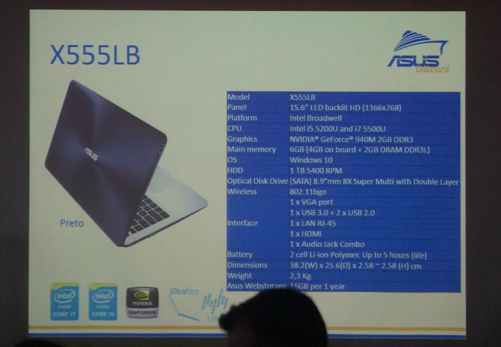 Asus X555LB
