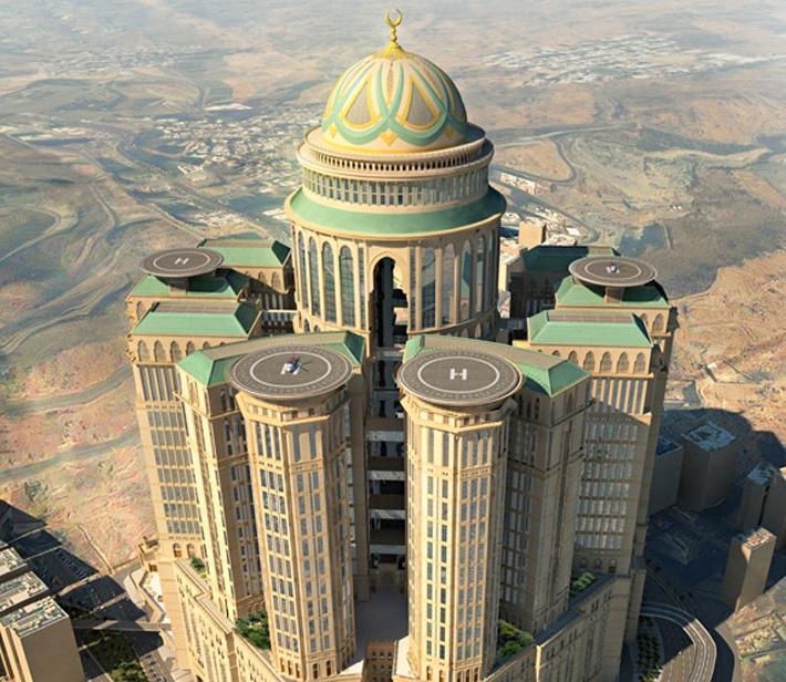 Um hotel de luxo transformará a histórica cidade de Meca na Disney