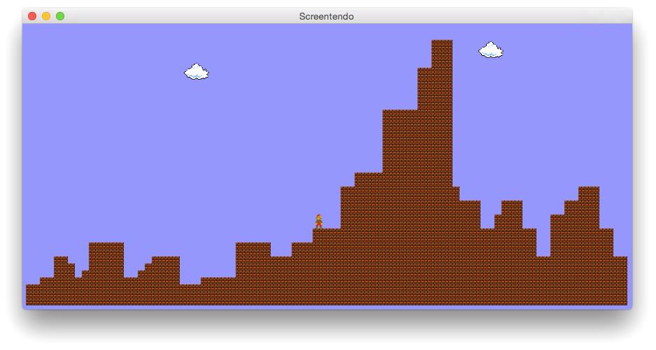 Screentendo transforma capturas de tela em uma fase de Super Mario