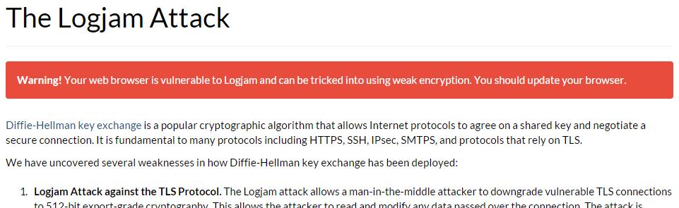 Ataque Logjam
