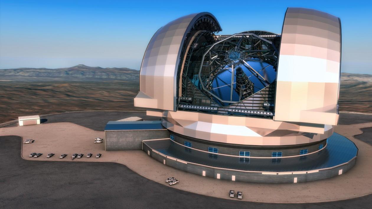 O monstruoso telescópio que permitirá ver distâncias não alcançadas do universo