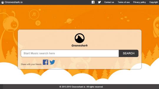 Grooveshark de volta