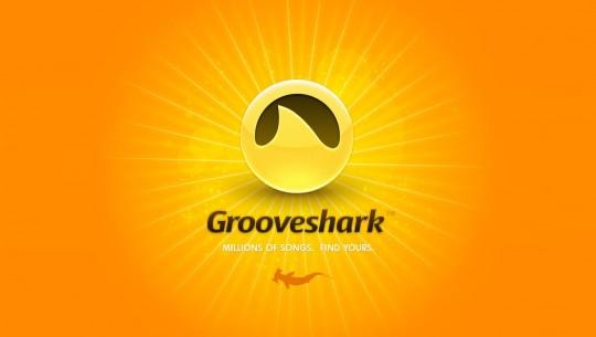 Grooveshark na tela