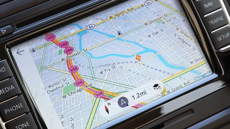 Here Maps em carro