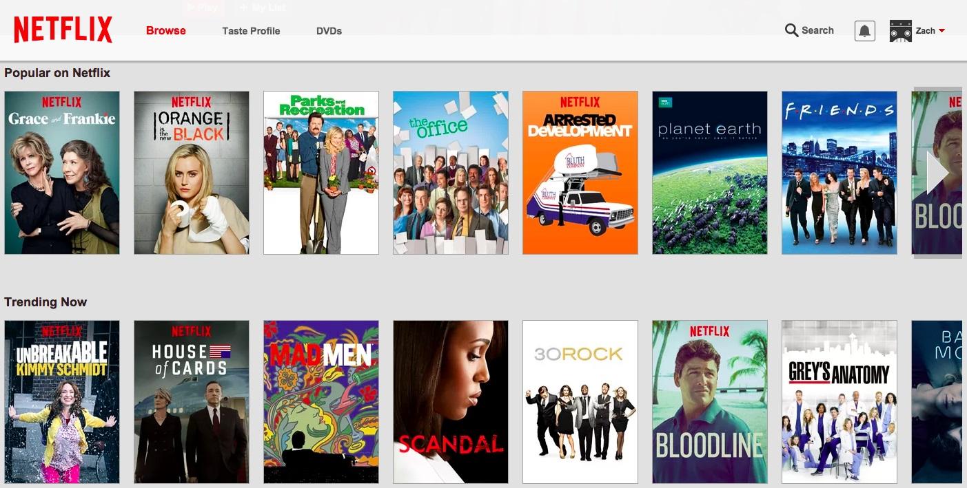 Netflix branco