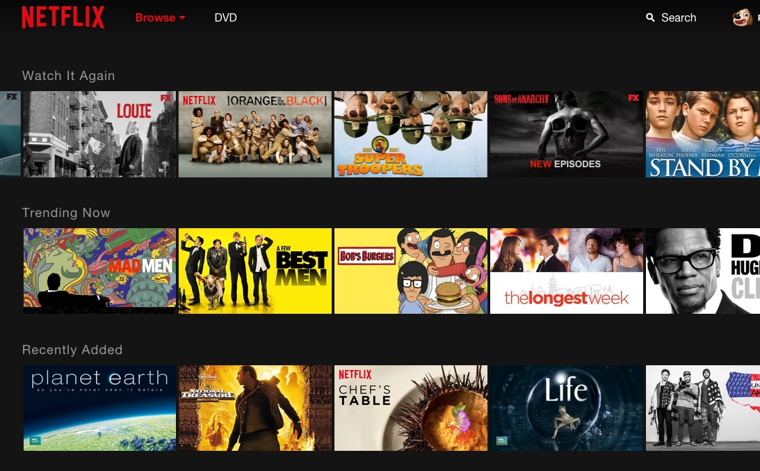 Netflix - nova interface (3)