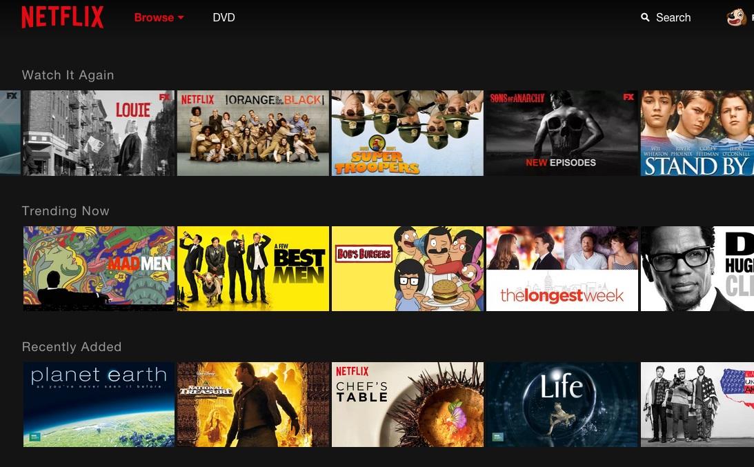Netflix - nova interface (3)
