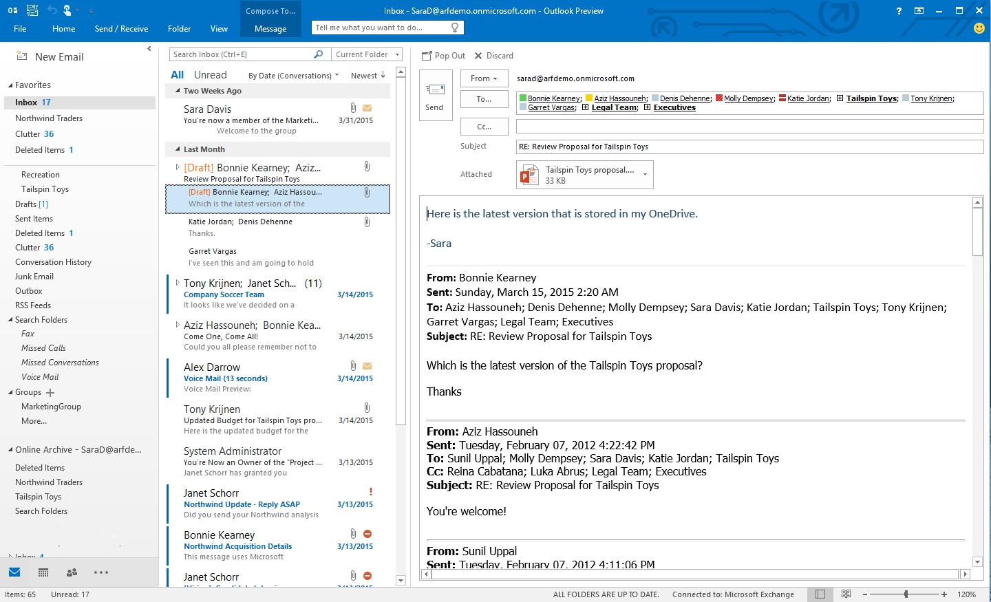 Office 2016 Preview para Windows (4)
