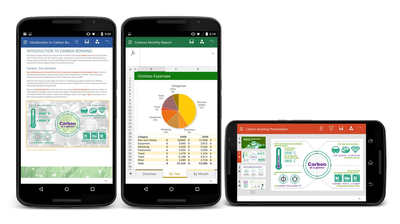 Office para Android - capa