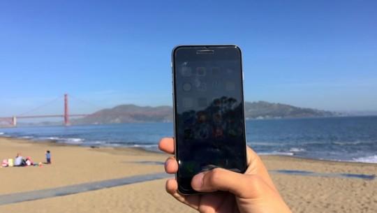 Pelicula de iPhone com botao voltar
