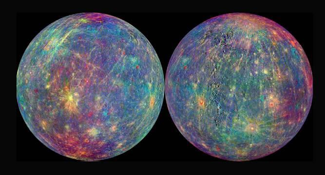 Superficie de Mercurio