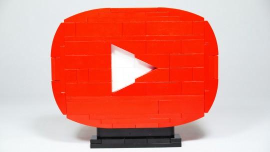 YouTube em Lego