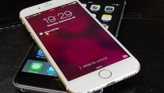 iPhone 6 e mensagens
