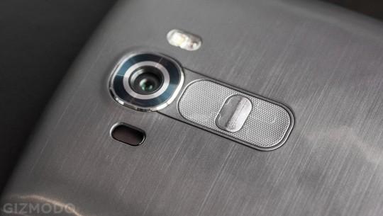 Teste de câmera LG G4