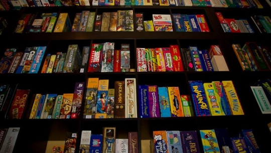 Gameshelf
