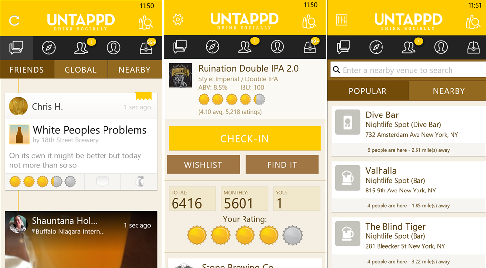 untappd-new-screens