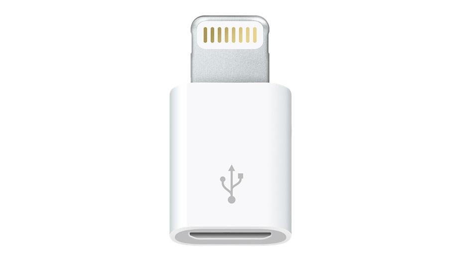 Adaptador Lightning USB