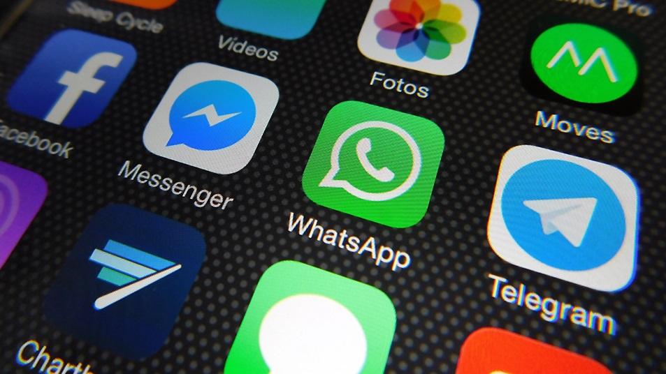 WhatsApp e outros apps