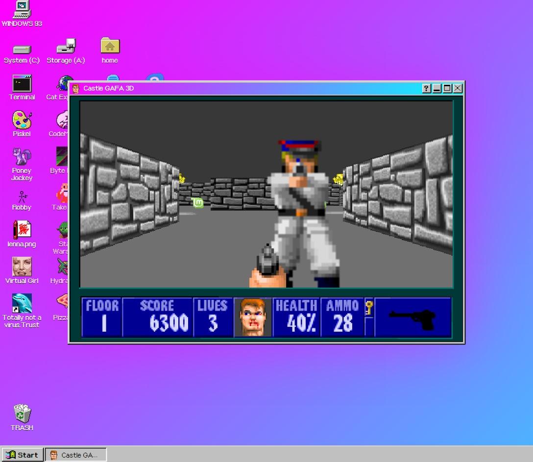Windows 93 beta - Castle