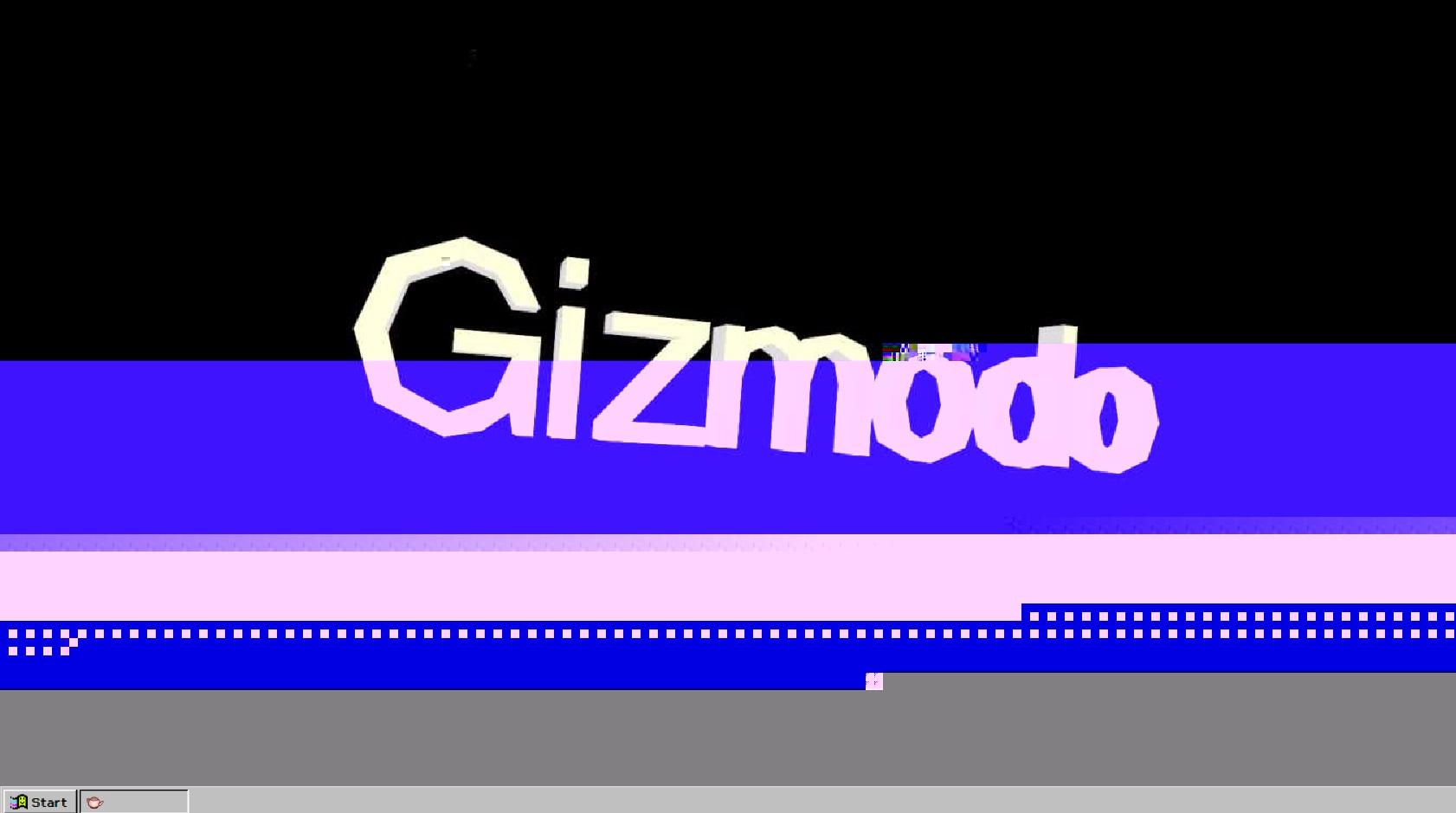 Windows 93 beta - glitch
