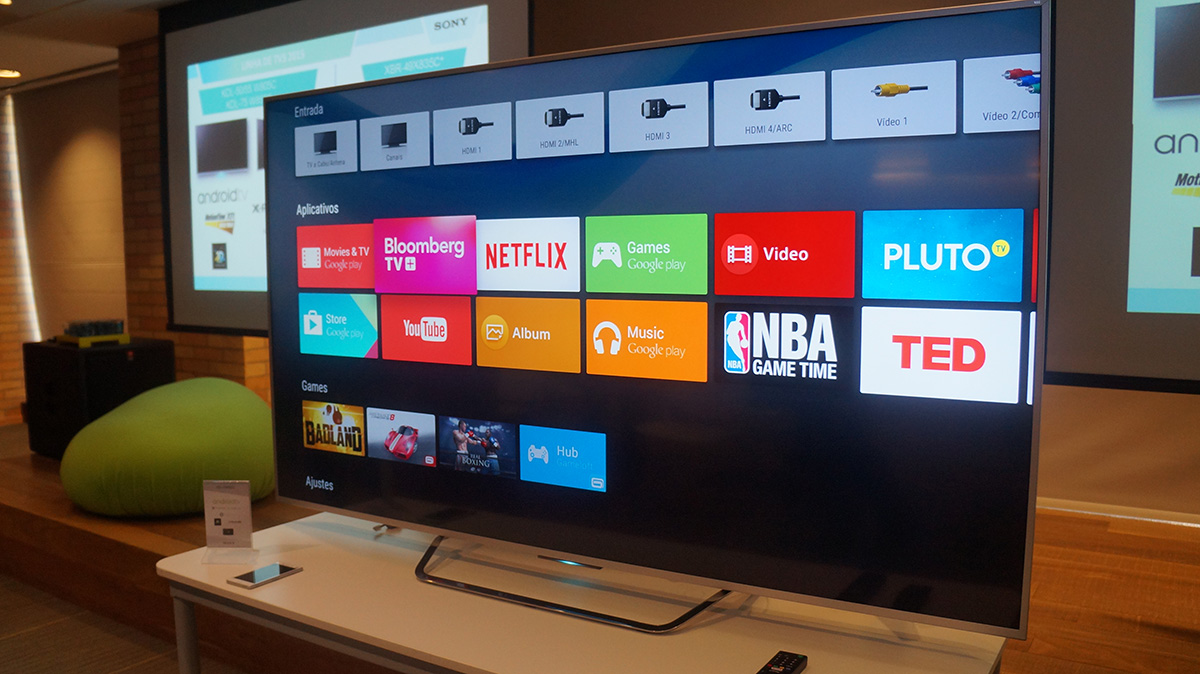 Android TV da Sony