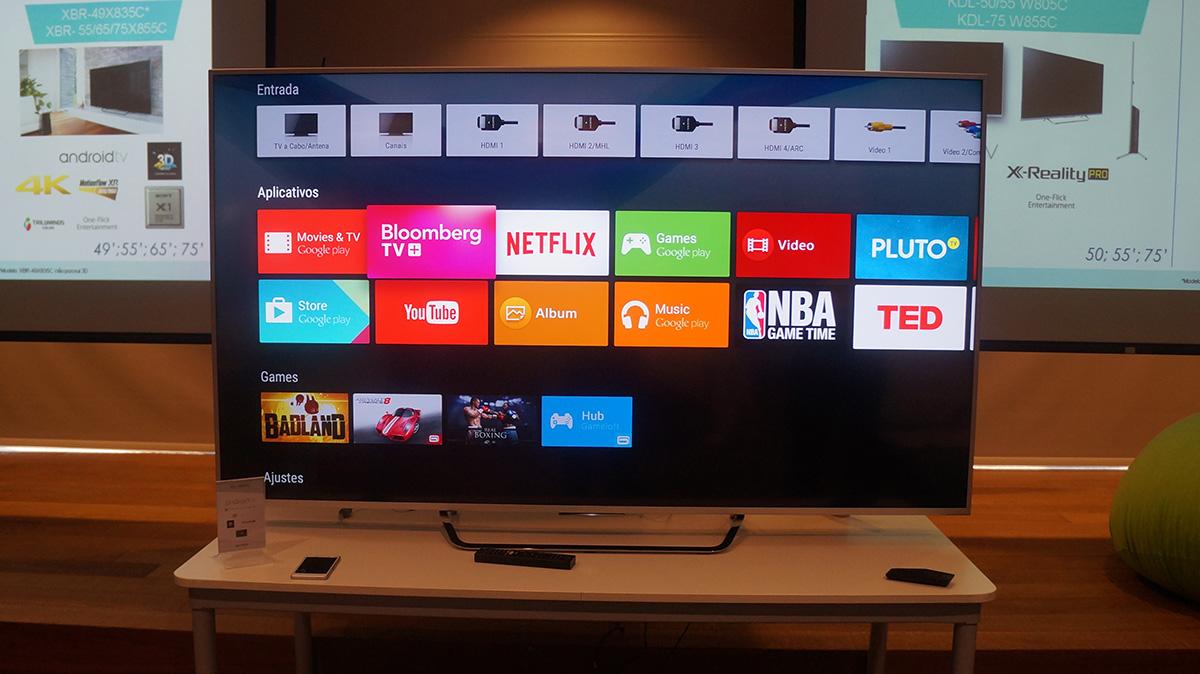 Sony lança Android TV no Brasil; modelos custam a partir de R$ 4.999