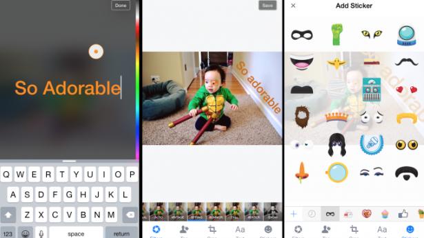 Facebook incorpora recursos do Snapchat ao seu editor de fotos