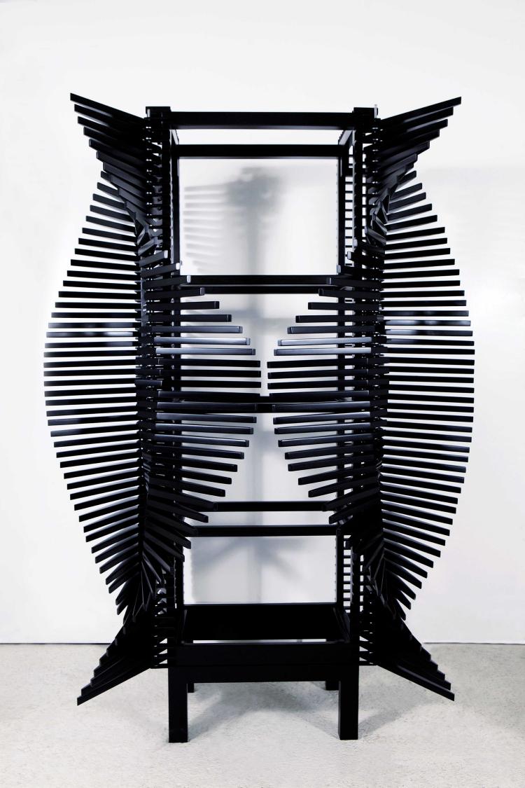 Gabinete criado por Sebastian Errazuriz