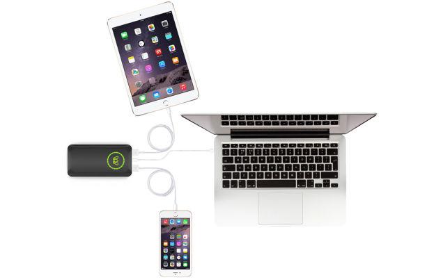 A primeira bateria USB-C que consegue carregar um laptop em velocidade máxima