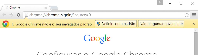 Chrome e mudar padrao no Windows 10