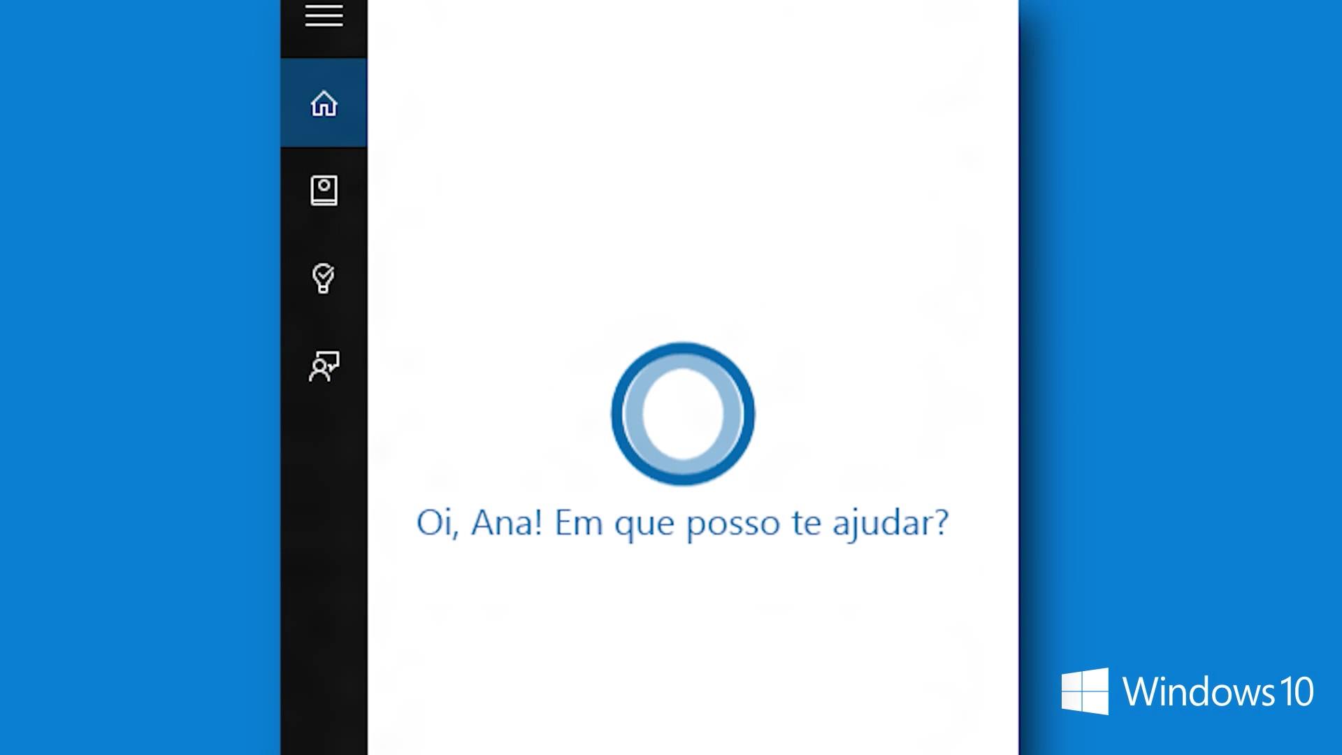 Cortana em portugues