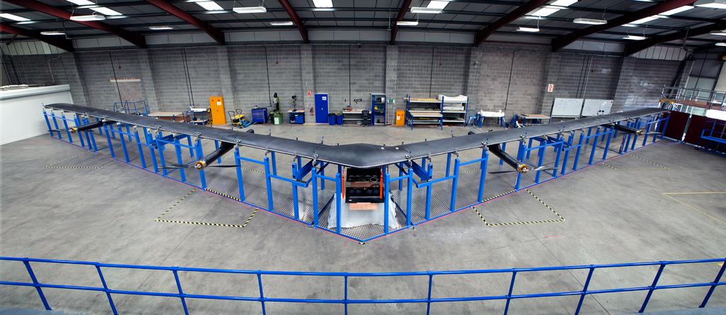 Drone do Facebook