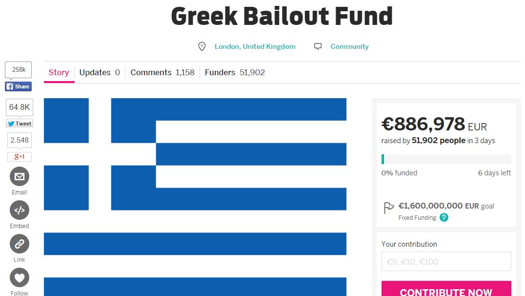 Indiegogo e Grecia