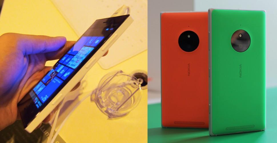 Lumia 928 e 830