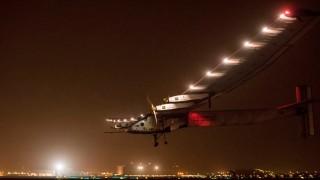 Solar Impulse 2 pousando